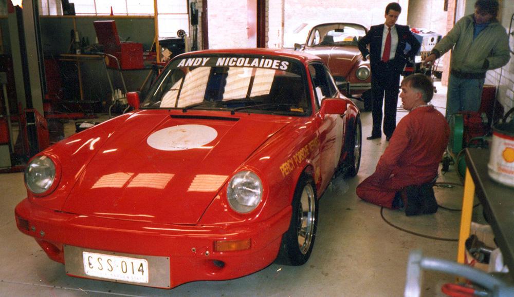Porsche 2.8RS Carrera - Andy Nicolaides Australia