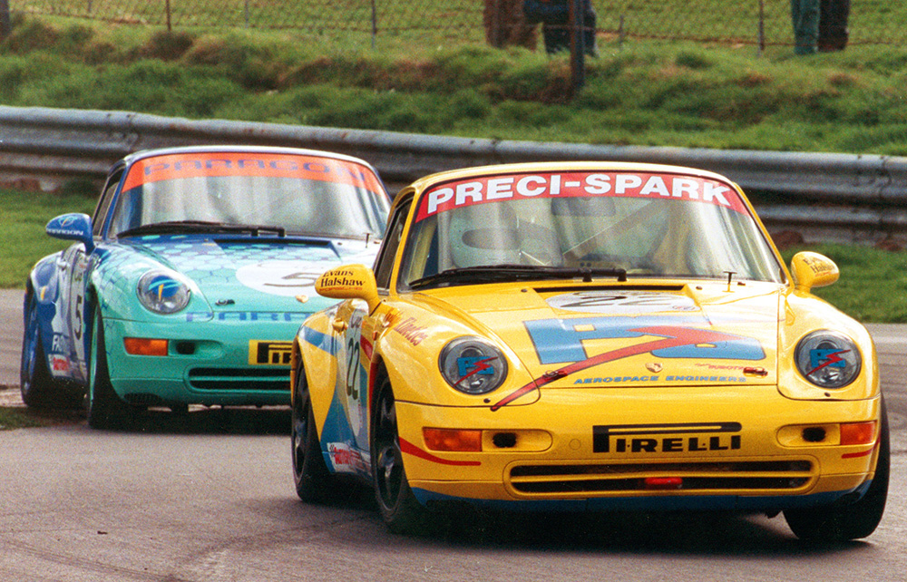 Porsche 993 - Thruxton, 1996