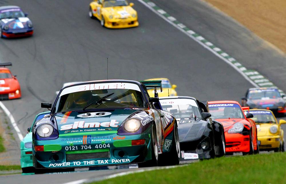 Porsche 993 RSR Brands Hatch 2000