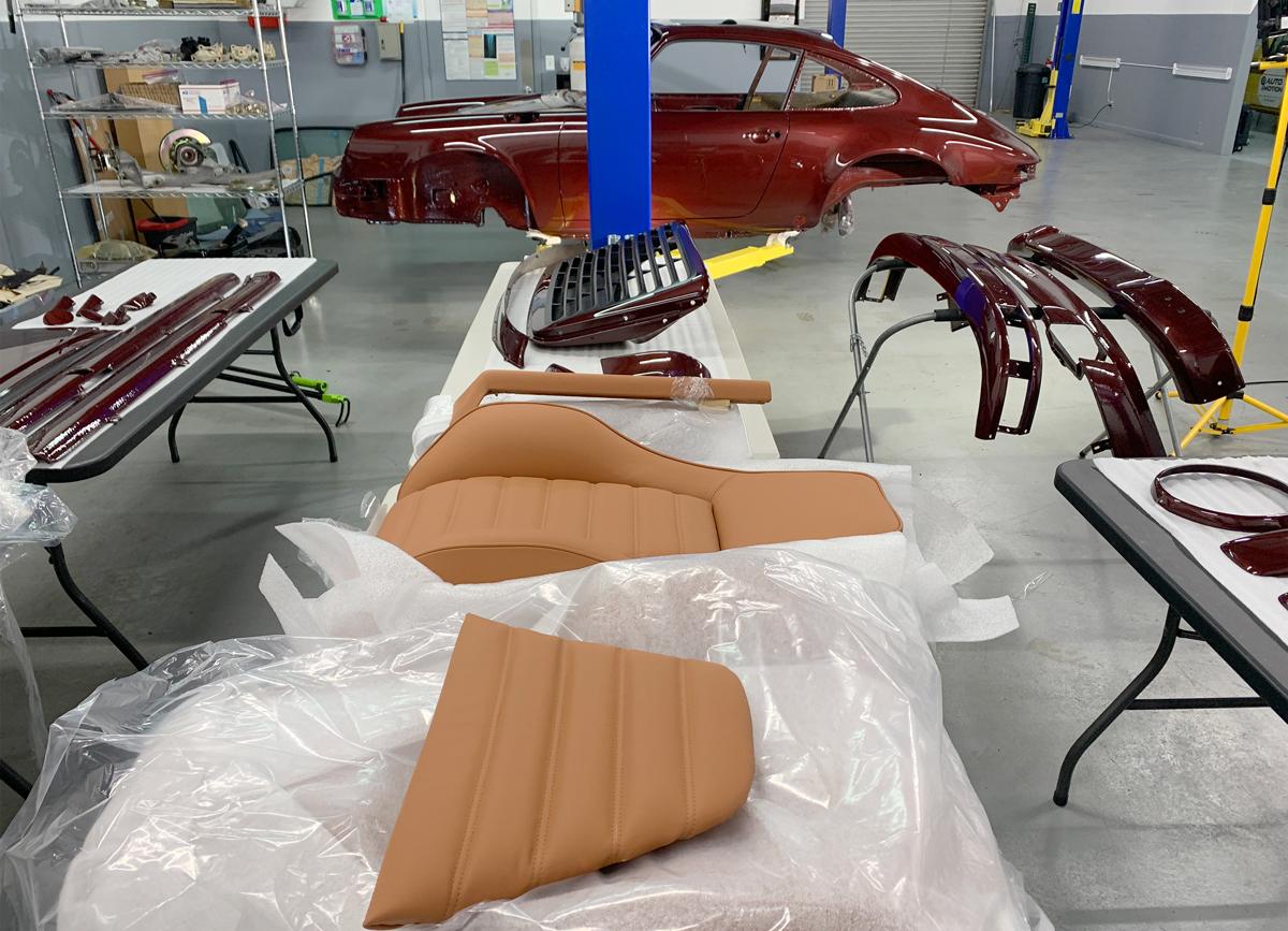 9 Reborn Porsche in Build